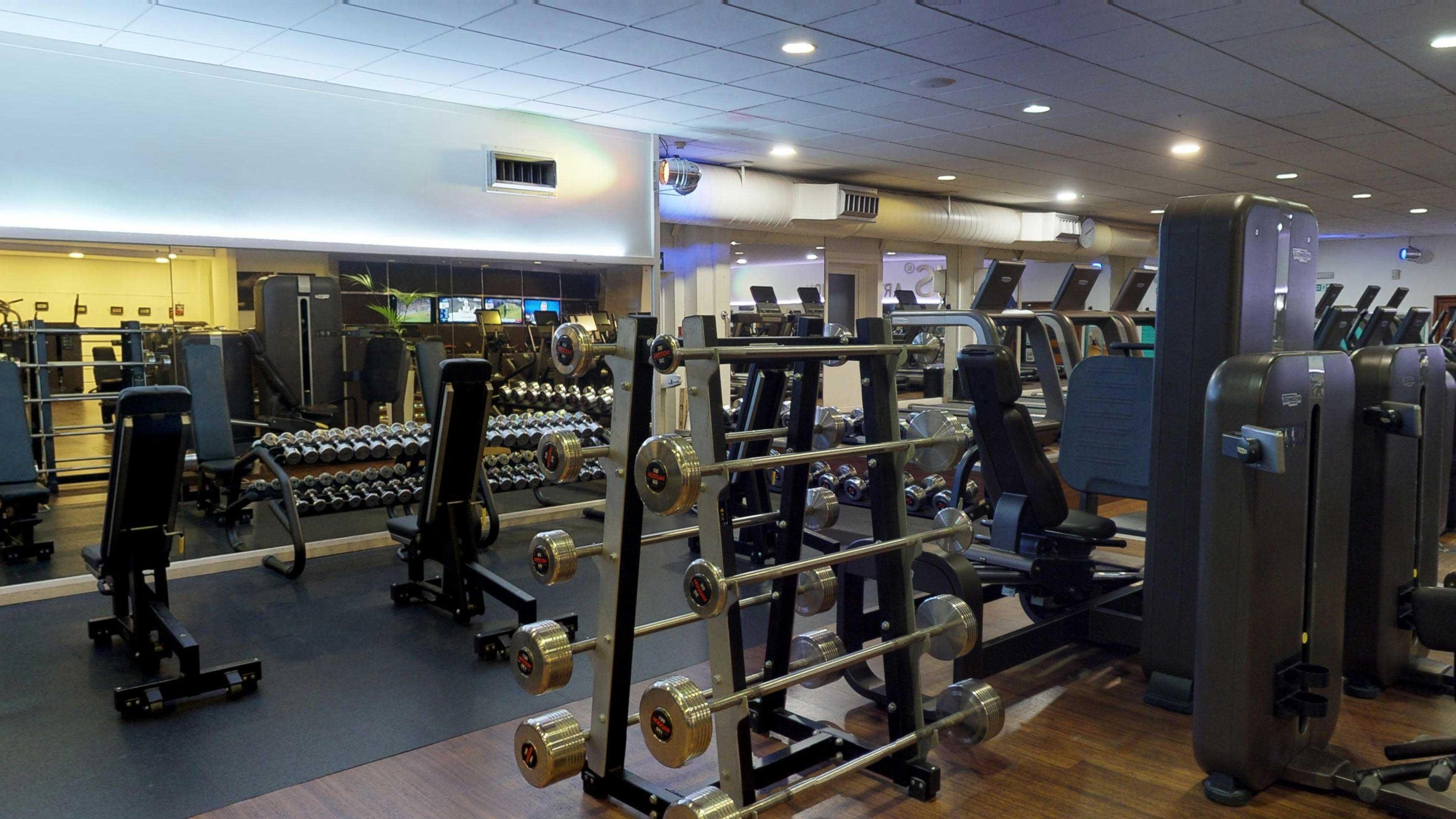 inside london gym