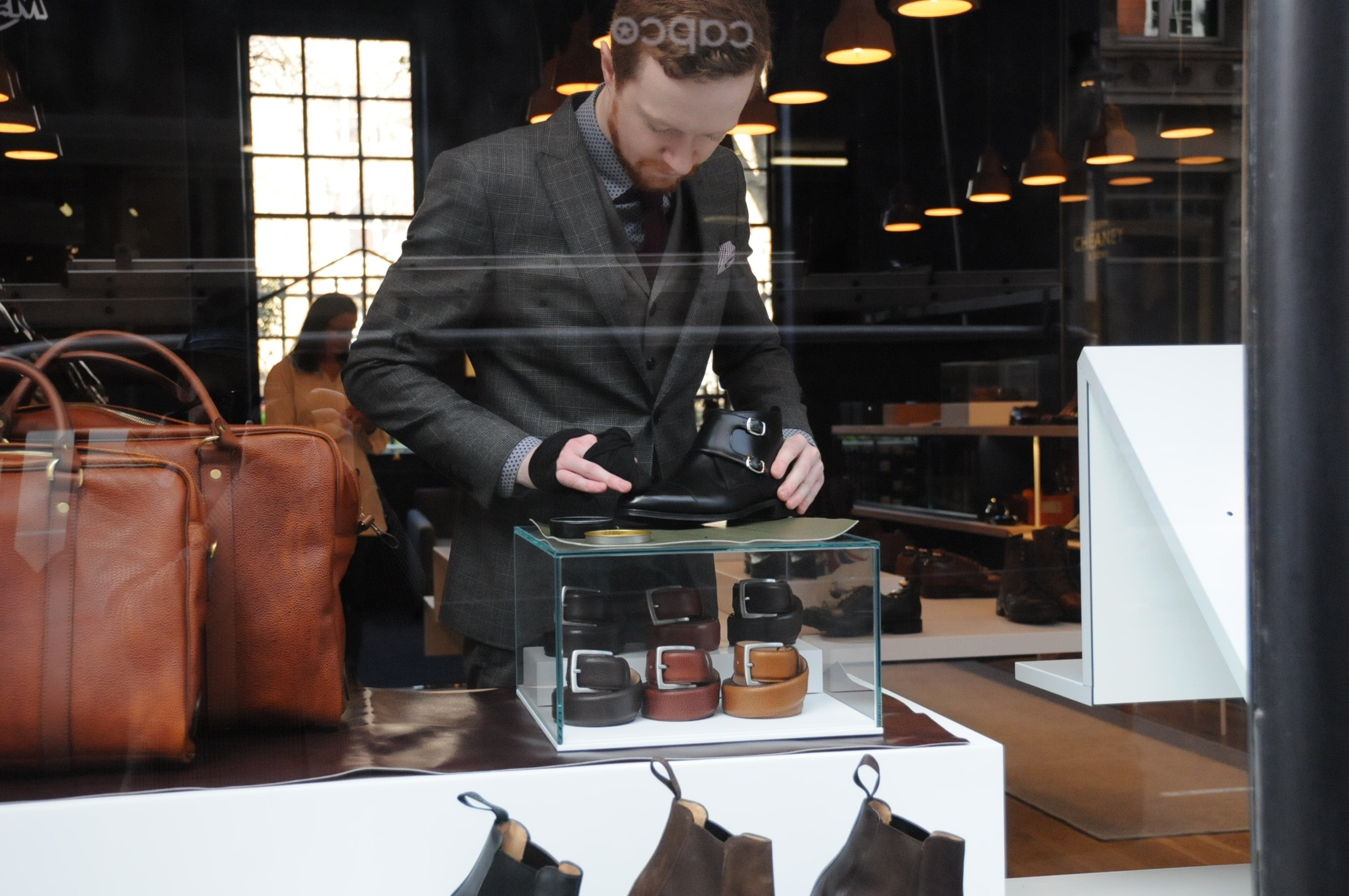 cheaney shoe shine covent garden