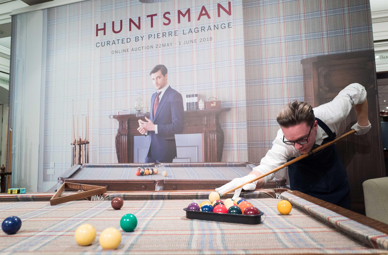 huntsman tweed cloth pool table