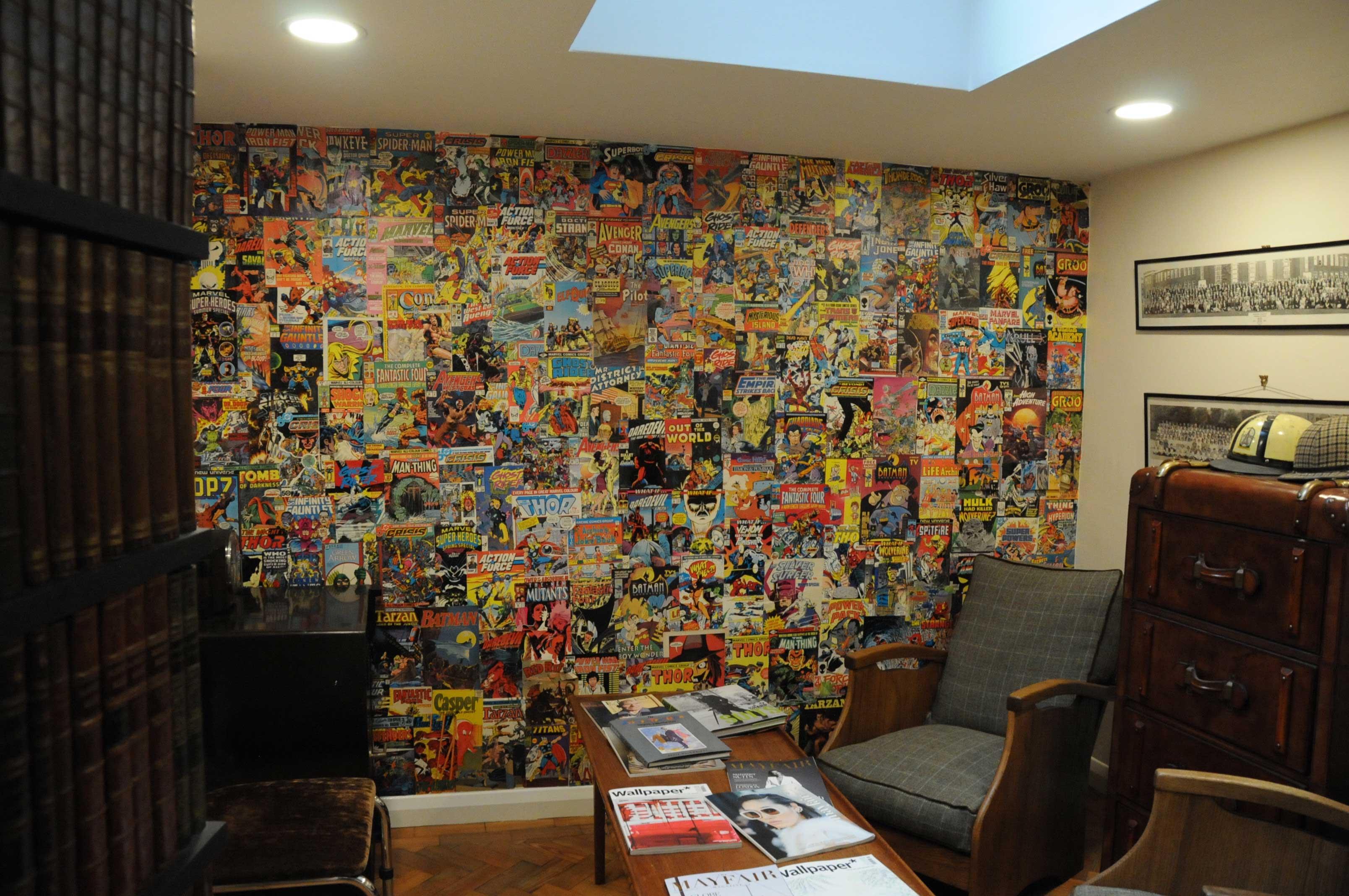 simon carter interior comic book consultation room