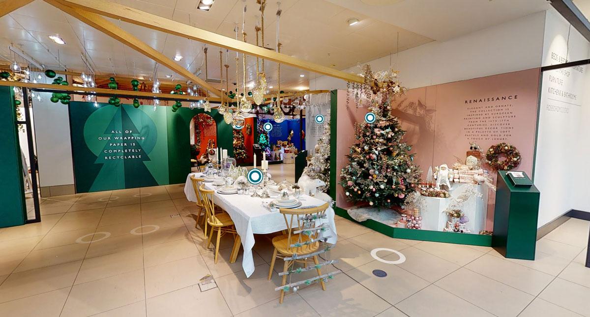 John Lewis Virtual 3D Christmas Shop