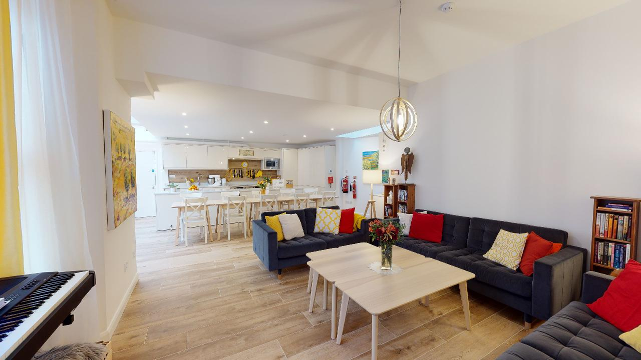 After communal living room in chiswick