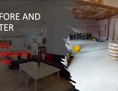 Before and After Housing Renovations – Youth Community Centre in Chiswick